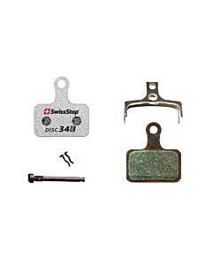 SwissStop Disc 34 E Shimano XTR / Road / GRX Organic Disc Brake Pads