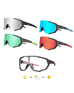 Tiger Cycling Glasses + 5 Lenses + Myopia Frame