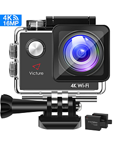 Sports Action Camera L2 4k Wifi Ultra HD 12MP, Waterproof Camera 30m Sony Sensor