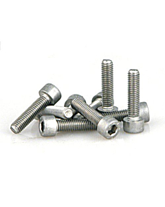 Stainless Steel Hex Screws M5