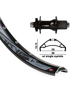 "GMB XLC / Rodi TRYP35 MTB 27,5"" Boost Rear Wheel"