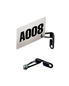 XON Supporto Portanumero in Alluminio